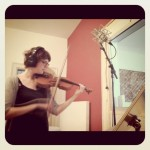"Simone playing violine for ""Movement"""