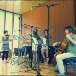 The lovely Soleaclave string quartet