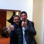 Me and the great Andrea Valeri.  If you don't know him, check this out: https://www.youtube.com/watch?v=8KsVtD01cgw